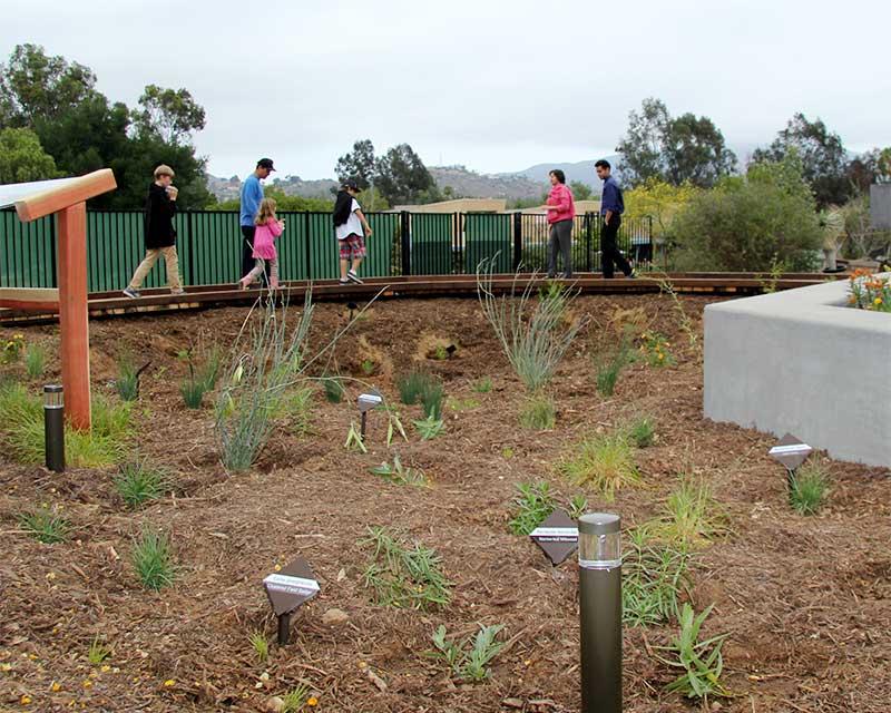 exhibit native habitat - Water Conservation Garden