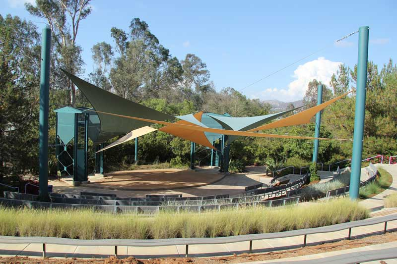 facility amphitheater - Water Conservation Garden
