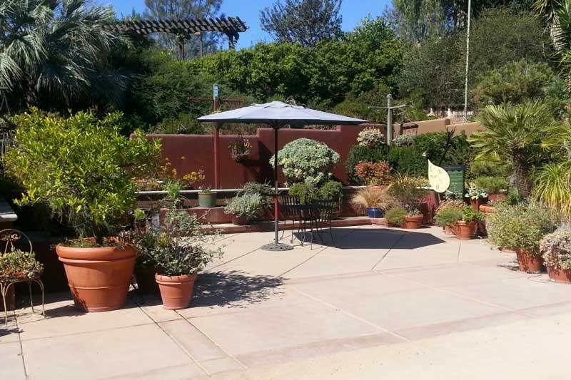 facility container garden - Water Conservation Garden