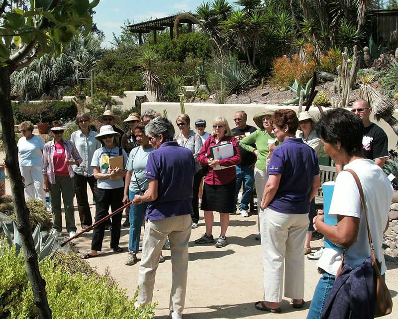 Free, Docent-led Garden Tour