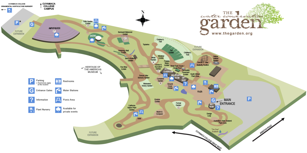 Plan Your Day | The Water Conservation Garden The Water Conservation ...