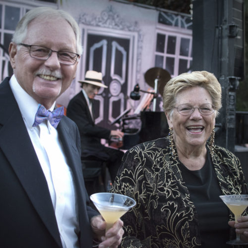 Vince & Kay McGrath at The Garden Gala 2016