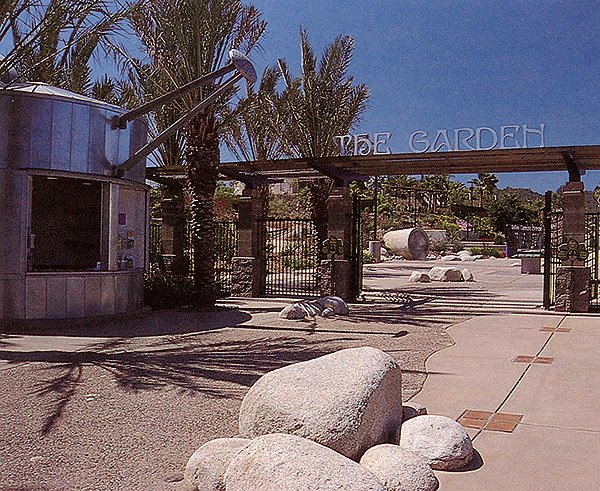 Entrance to Water Conservation Garden 2000