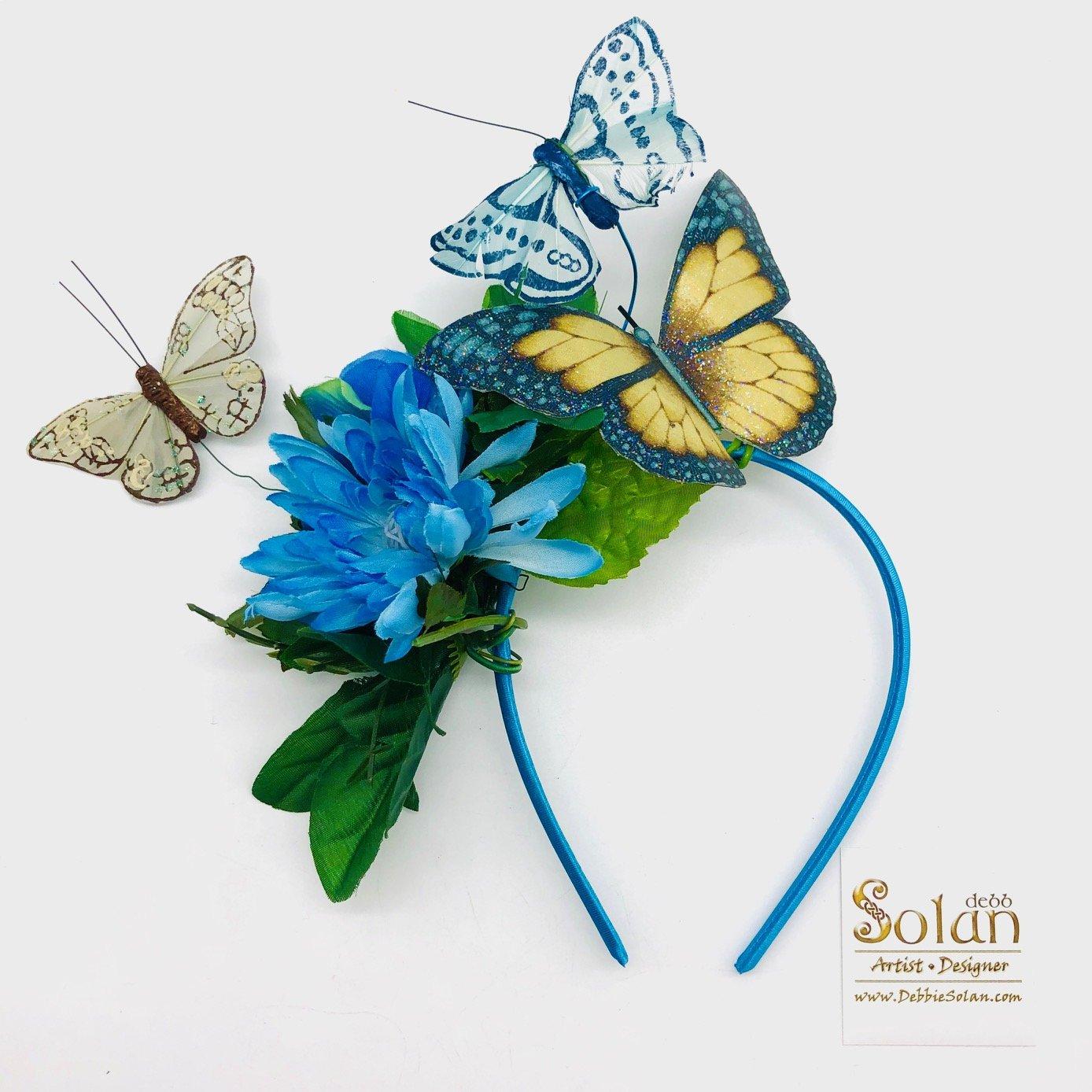 Flights of Fancy: Butterfly Headpieces