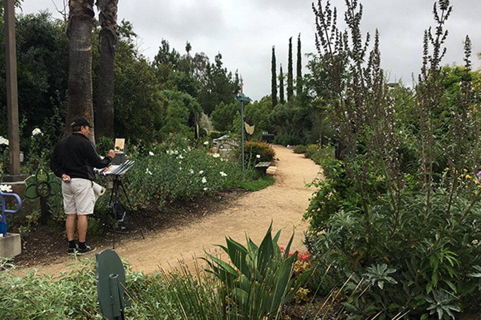 The Water Conservation Garden Remains OPEN